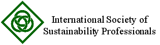 International Society of Sustainability Professionals logo