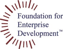 The Foundation for Enterprise Development logo