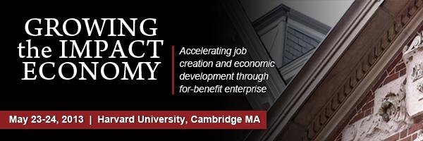 Growing the Impact Economy Summit logo