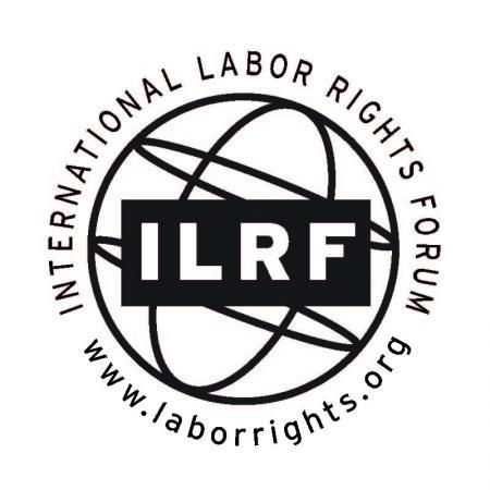 International Labor Rights Forum logo