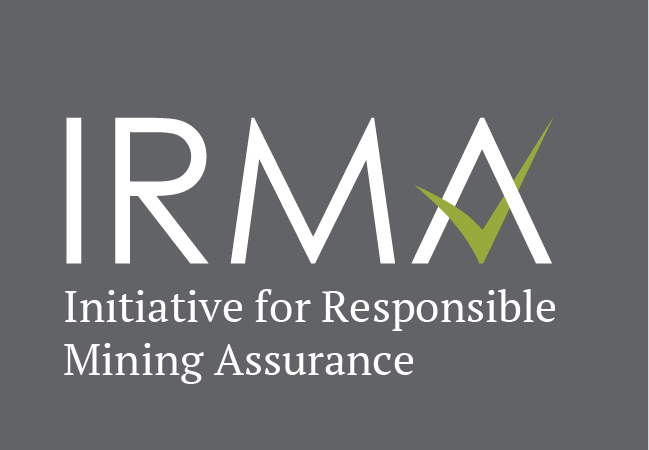 IRMA Initiative for Responsible Mining Assurance logo