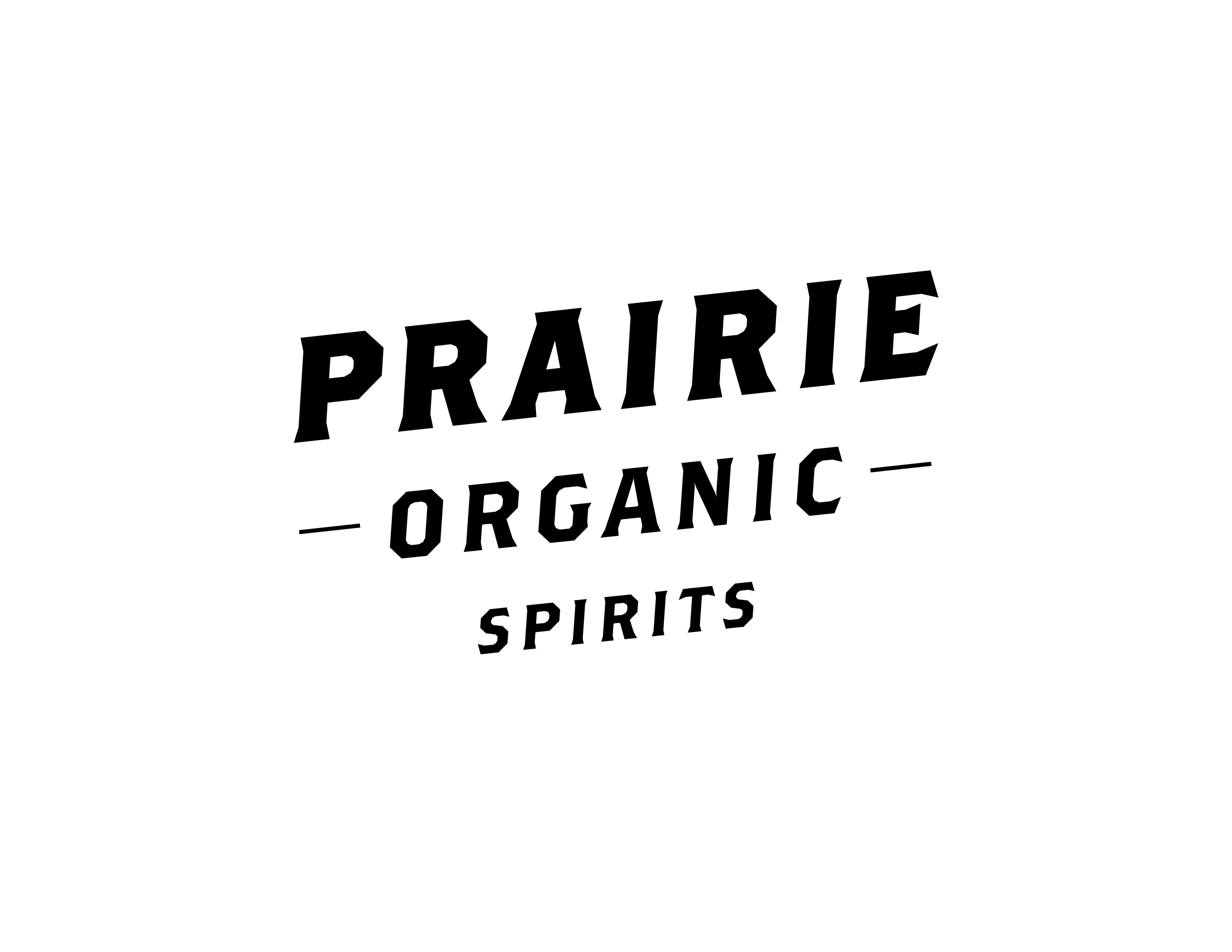Prairie Organic Spirits logo