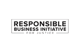 Responsible Business Initiative for Justice logo