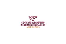 Virginia Tech Center for Leadership in Global Sustainability Logo