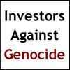 Investors Against Genocide logo