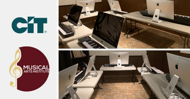 CIT Funds Student Computer Lab With Donation to Musical Arts Institute in Chicago