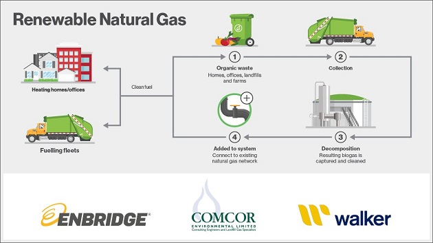 renewable natural gas infographic