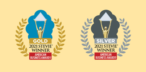 American Business Awards Gold and Silver logos
