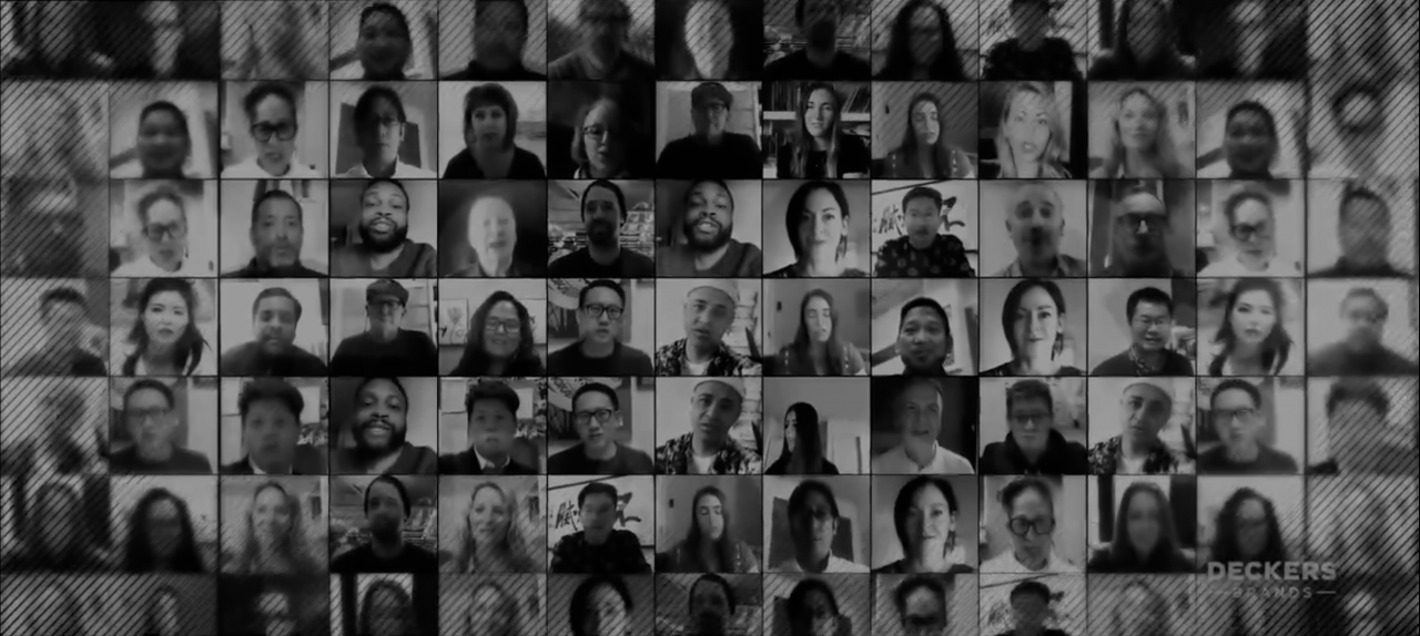 collage of faces in black and white