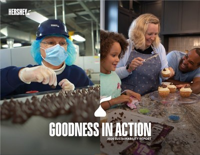 Goodness in Action Hershey Employees working