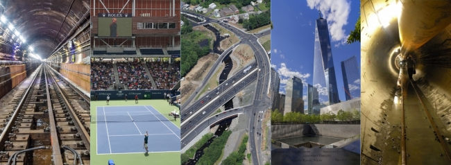 WSP collage of five projects