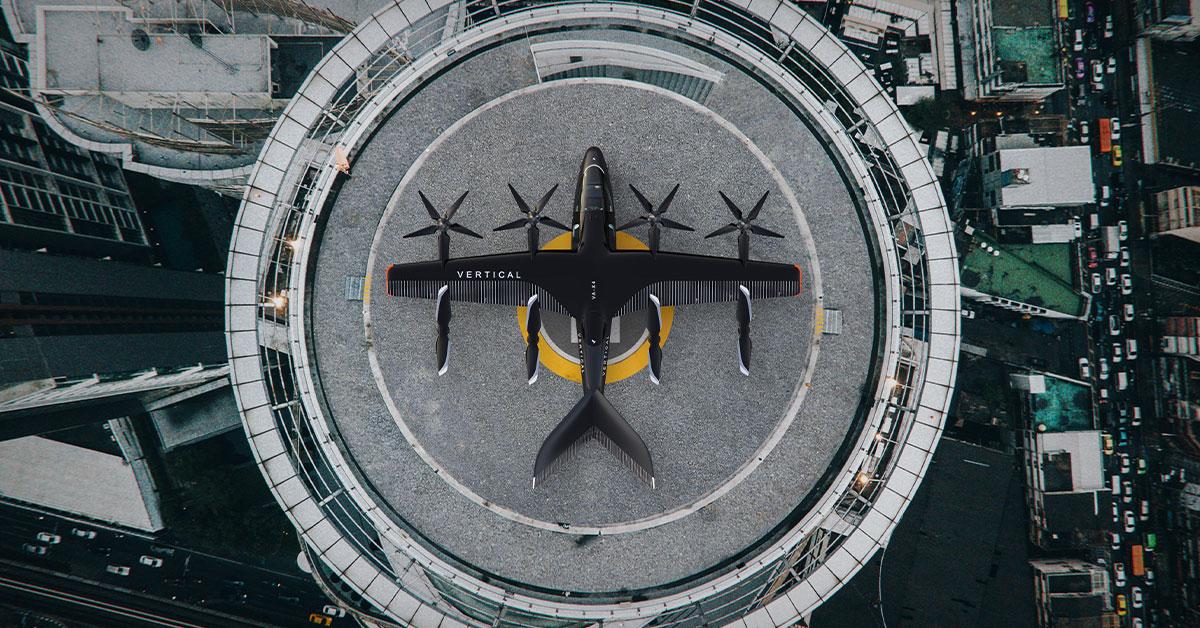 Vertical Aerospace plane