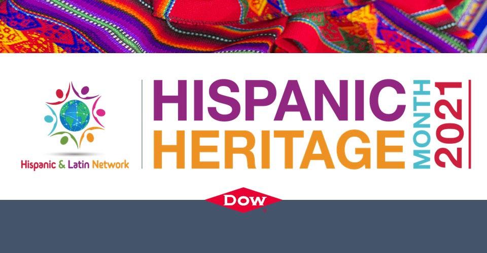 Dow's Hispanic Heritage Month Banner