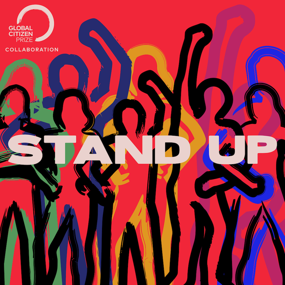 Stand Up logo and cover image