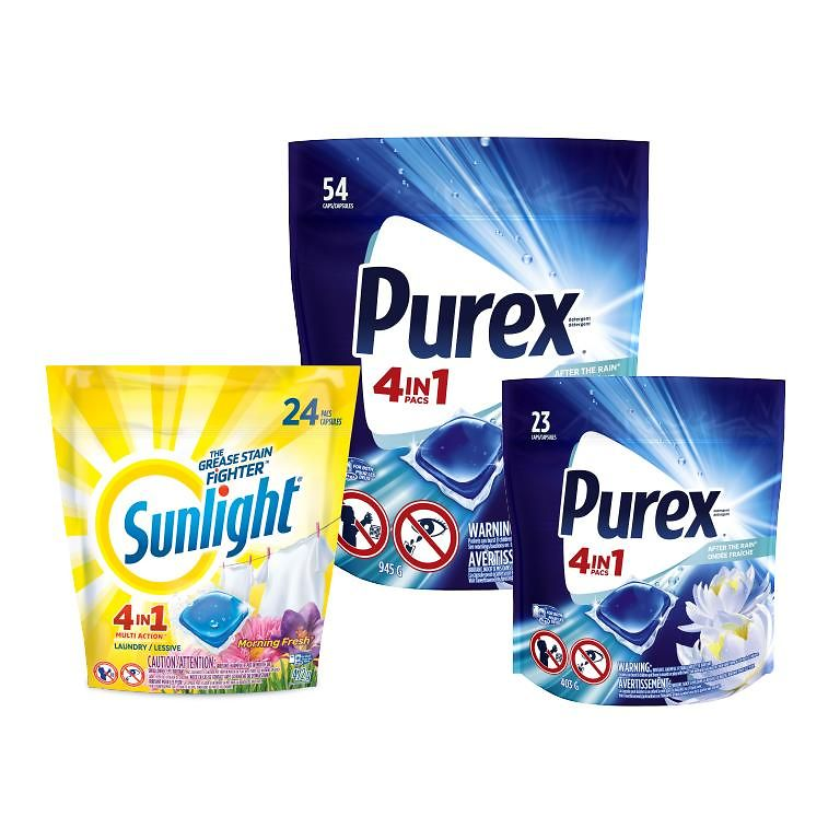 sunlight and purex products