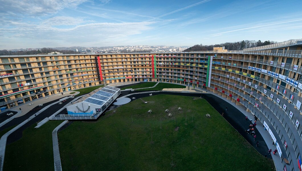 Vortex, the Lausanne Youth Olympic Village
