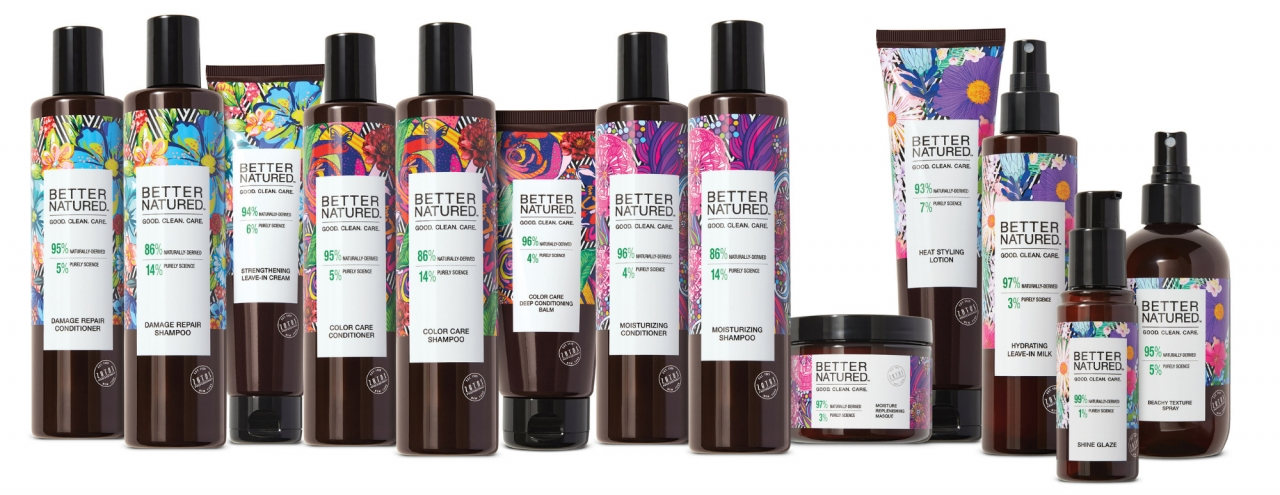The Better Natured Recycling Program ensures that packaging for the Better Natured line of hair care products is nationally recyclable