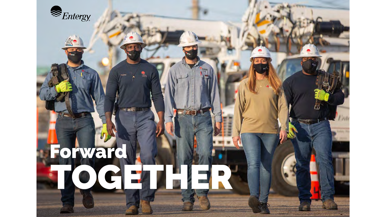 Entergy Integrated Report Cover