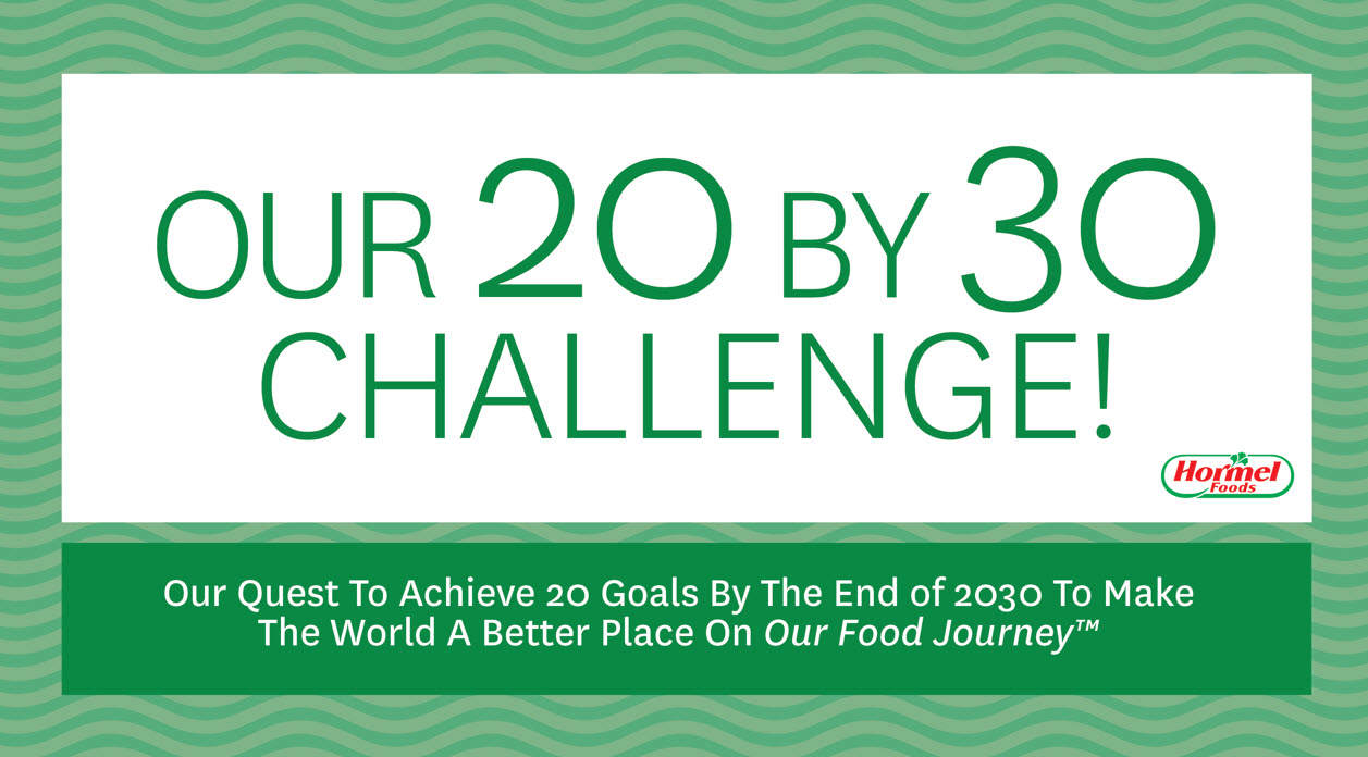 20 by 30 challenge logo