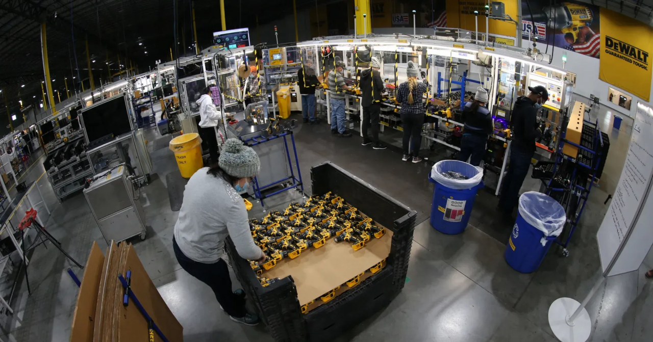 manufacturing site