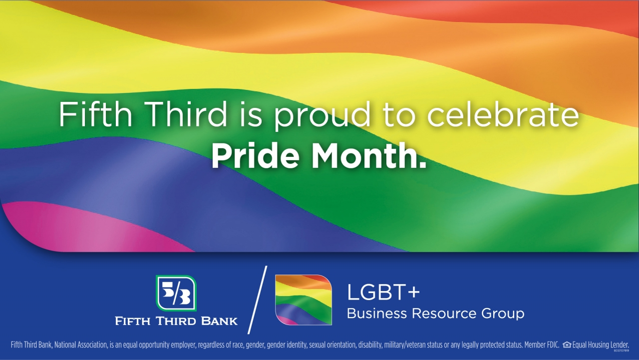 Fifth Third's Pride Month banner image
