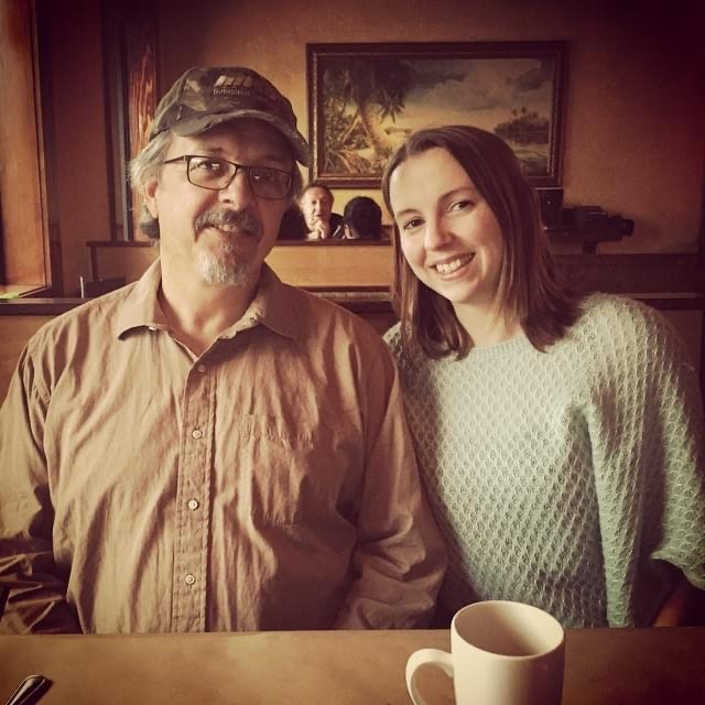 Dawn and her Dad