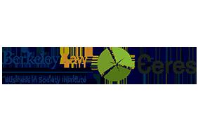 Ceres and UC Berkeley School of Law logos