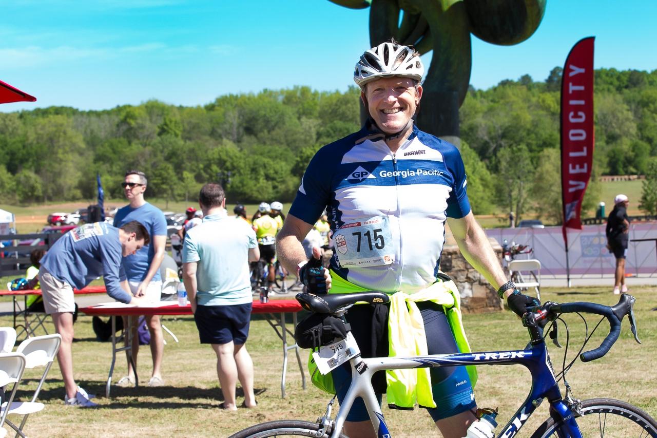 Georgia-Pacific Employees Bike for Charity