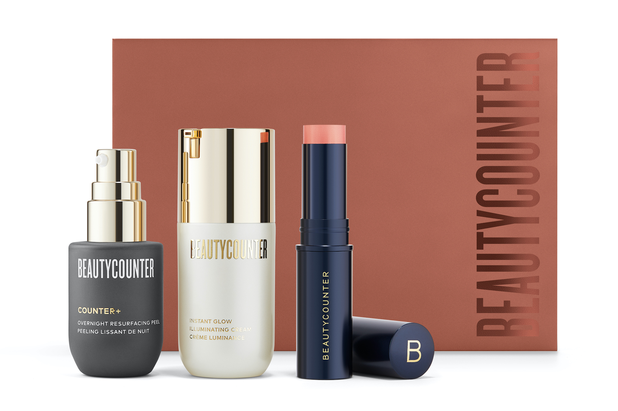 Beautycounter Glow Getters Trio Box sustainable gifts