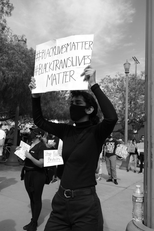 LGBT Pride Black Trans Lives Matter