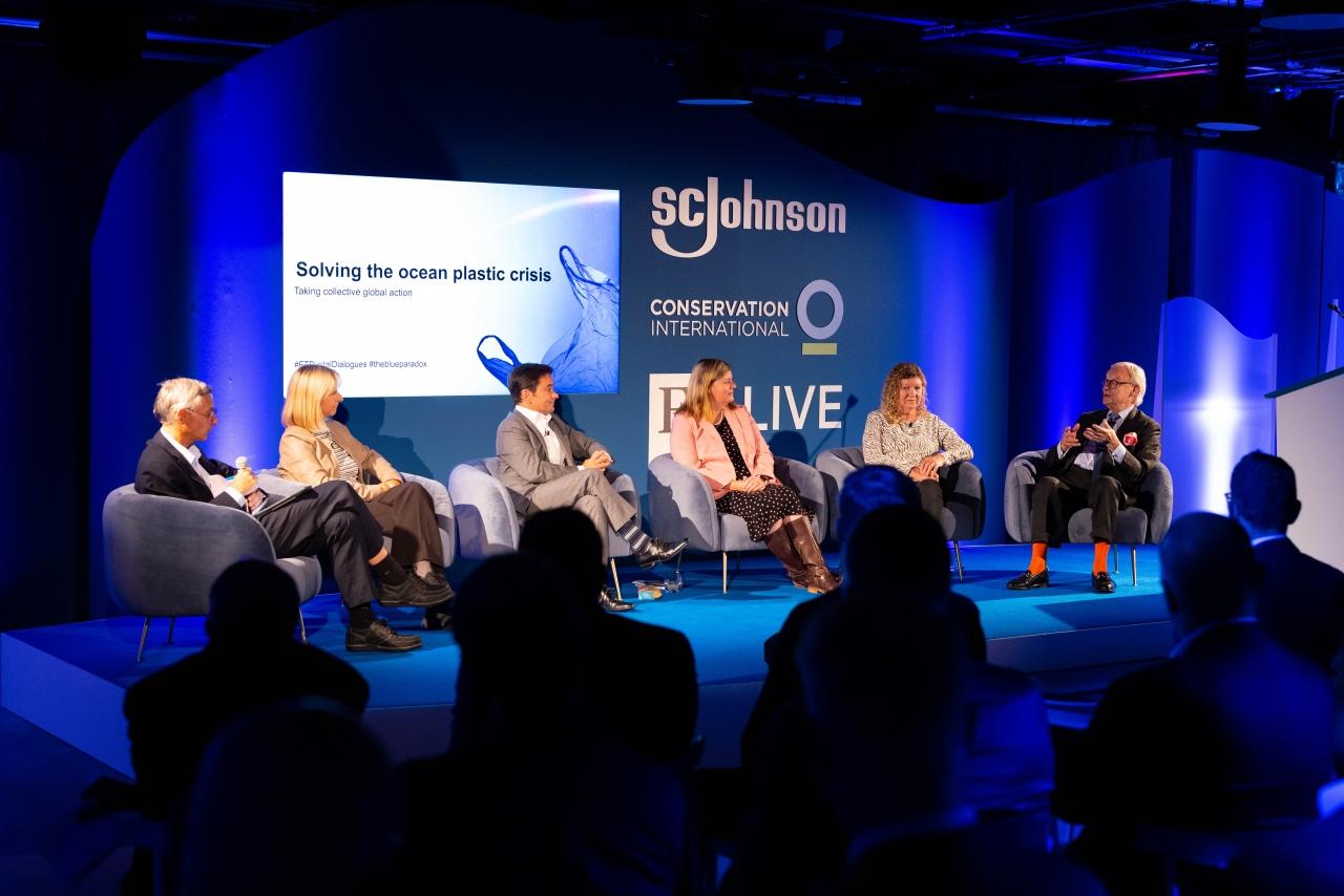 """""""Solving the Ocean Plastic Crisis""""  panel discussion"""