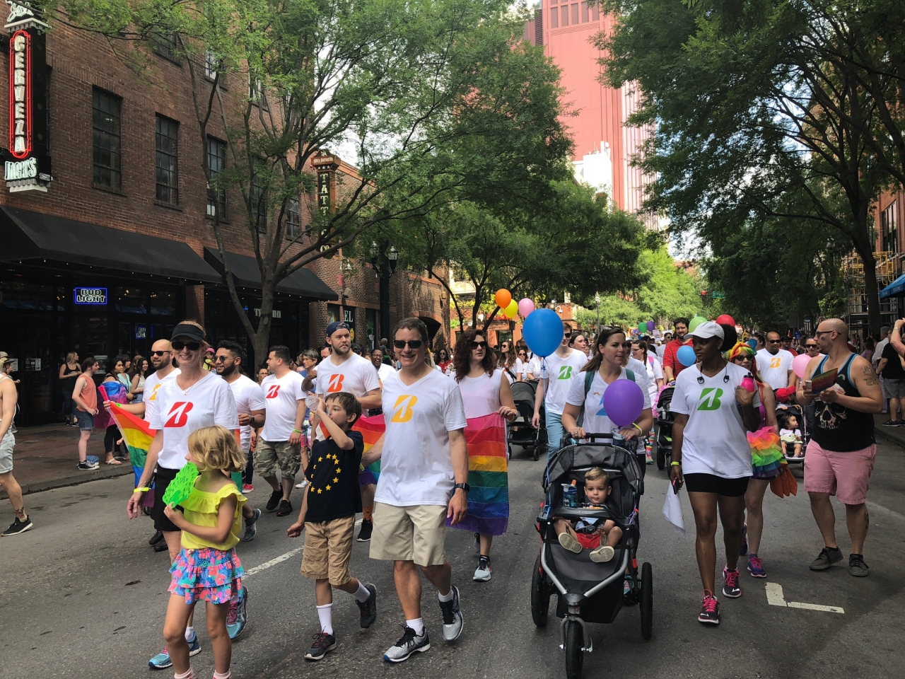 Bridgestone Nashville pride parade brands taking stands corporate activism