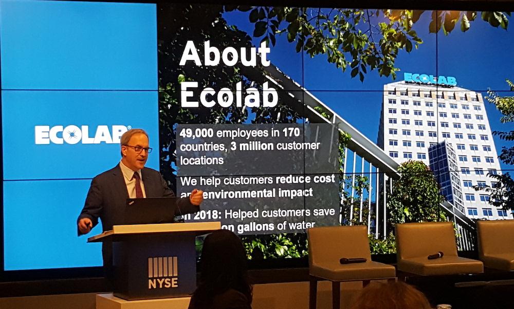 Ecolab CEO Doug Baker