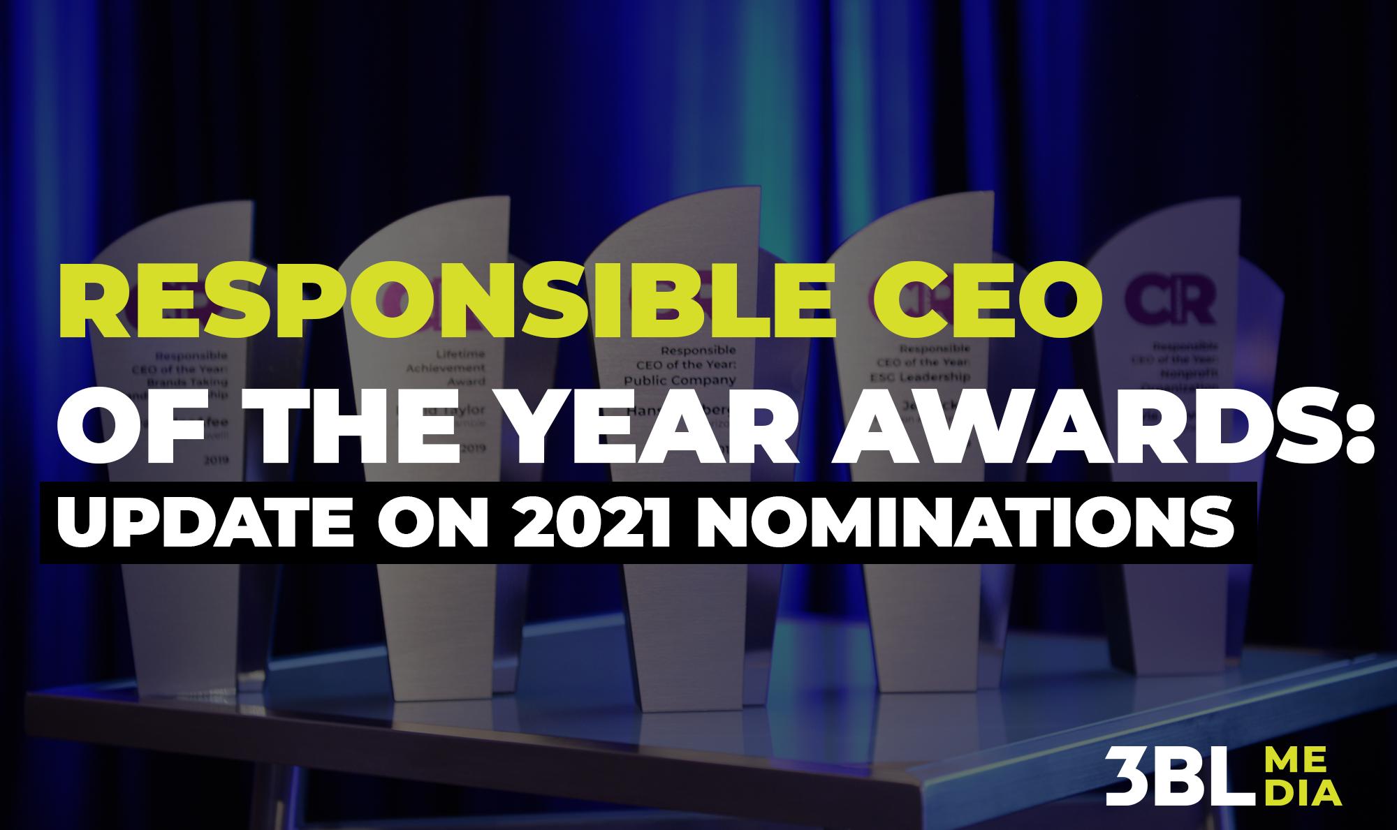 CEO awards 2021