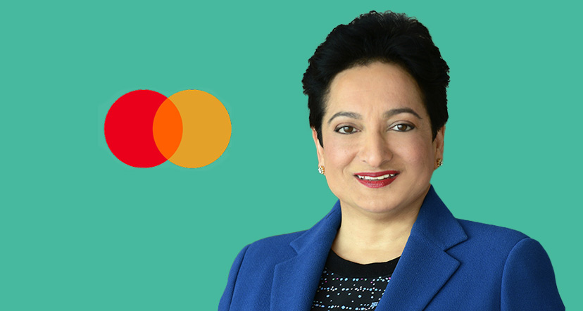 Shamina Singh, Executive Vice President of Corporate Sustainability at Mastercard and Founder & President of the Center for Inclusive Growth