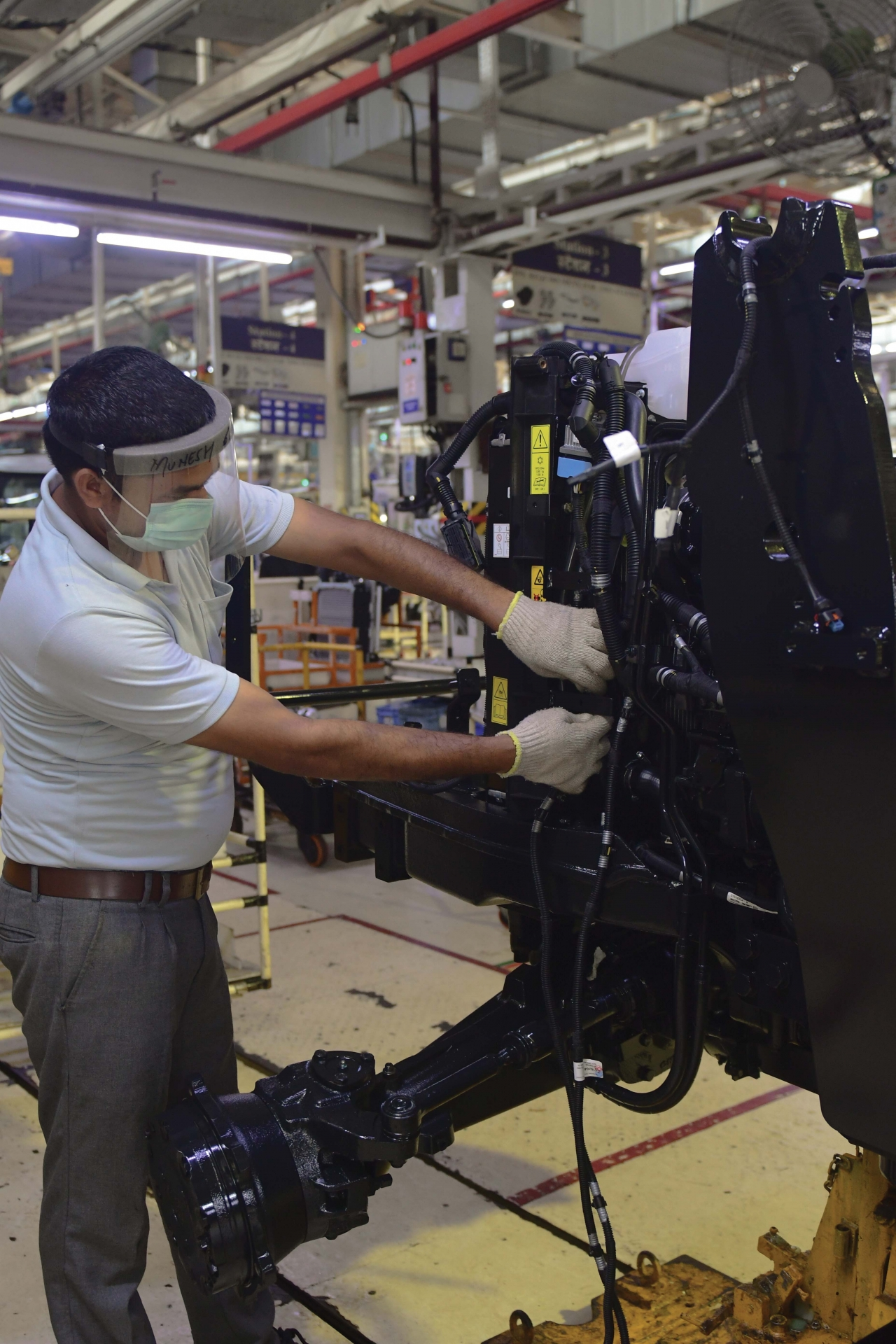 CNH Industrial employees in India