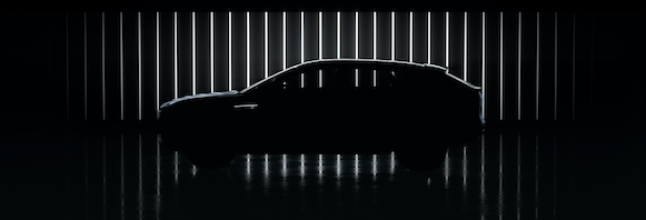 A silhouette of the GM Cadillac Celestiq