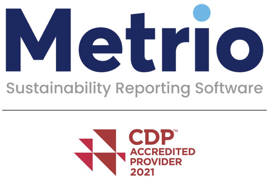 Metrio and CDP logos