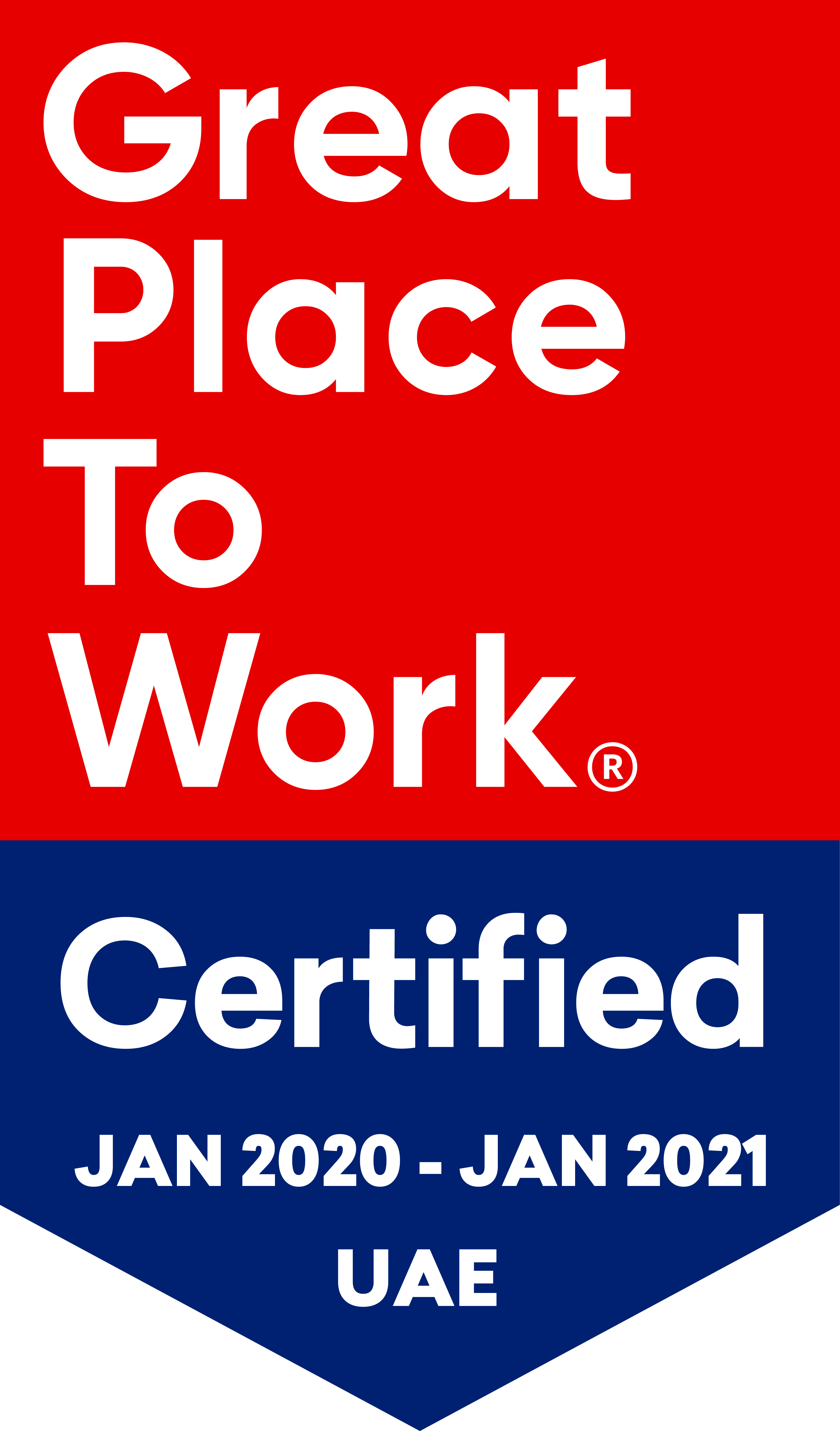 Great PLace to Work Certification Logo