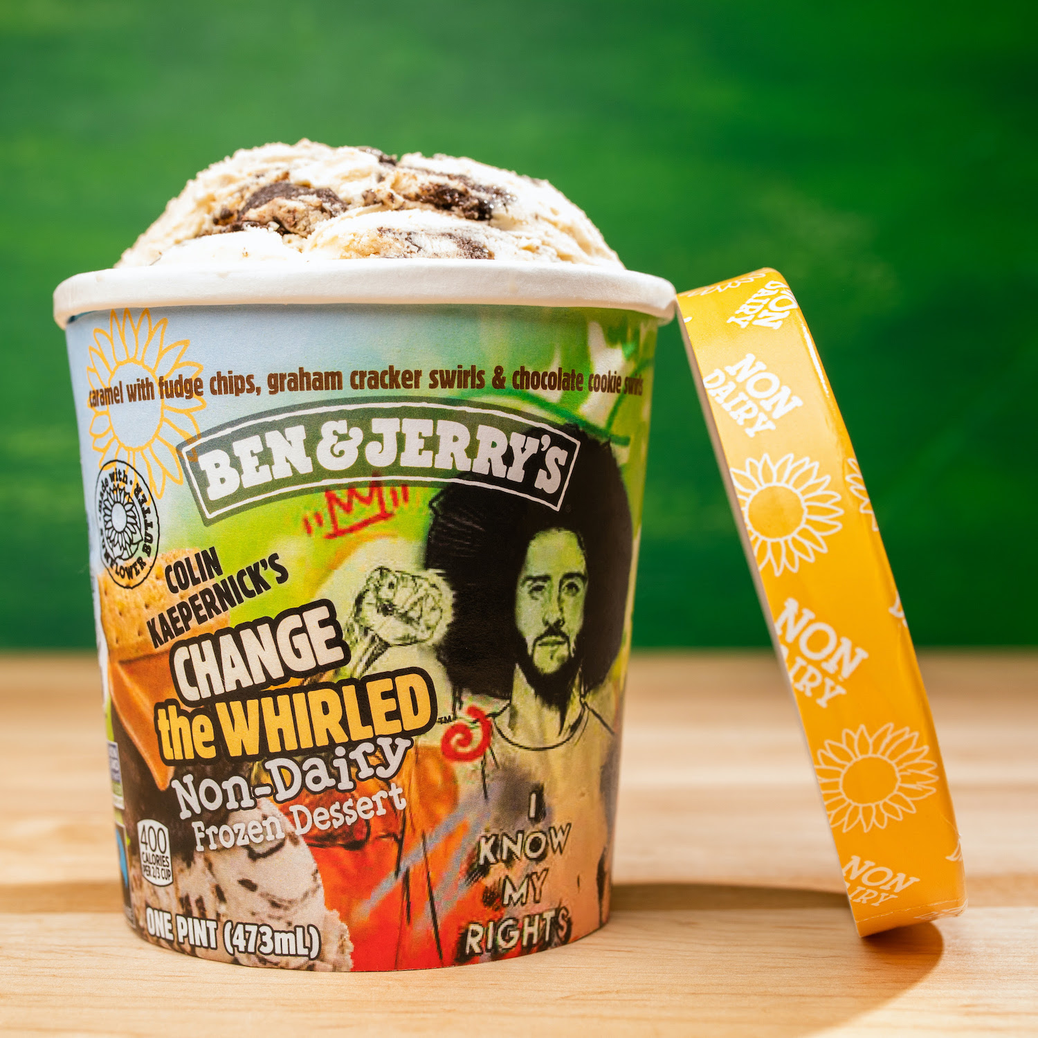 Change the Whirled Colin Kaepernick Ben & Jerry's plant-based ice cream
