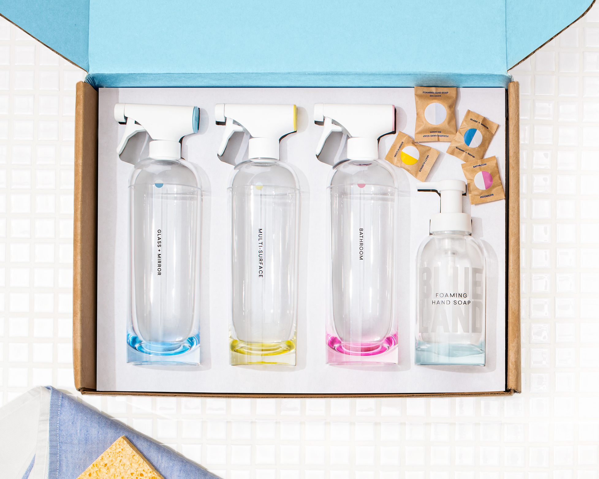 The Clean Essentials kit sustainable holiday gifts