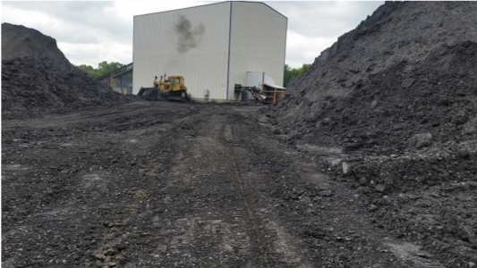 Image of Coal Craft Spirits site before