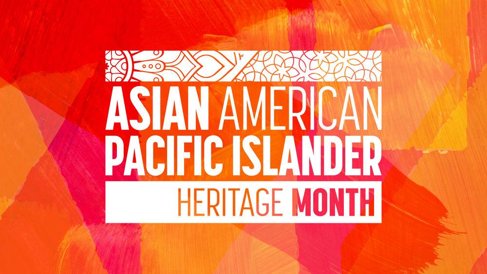 pacific islander month logo