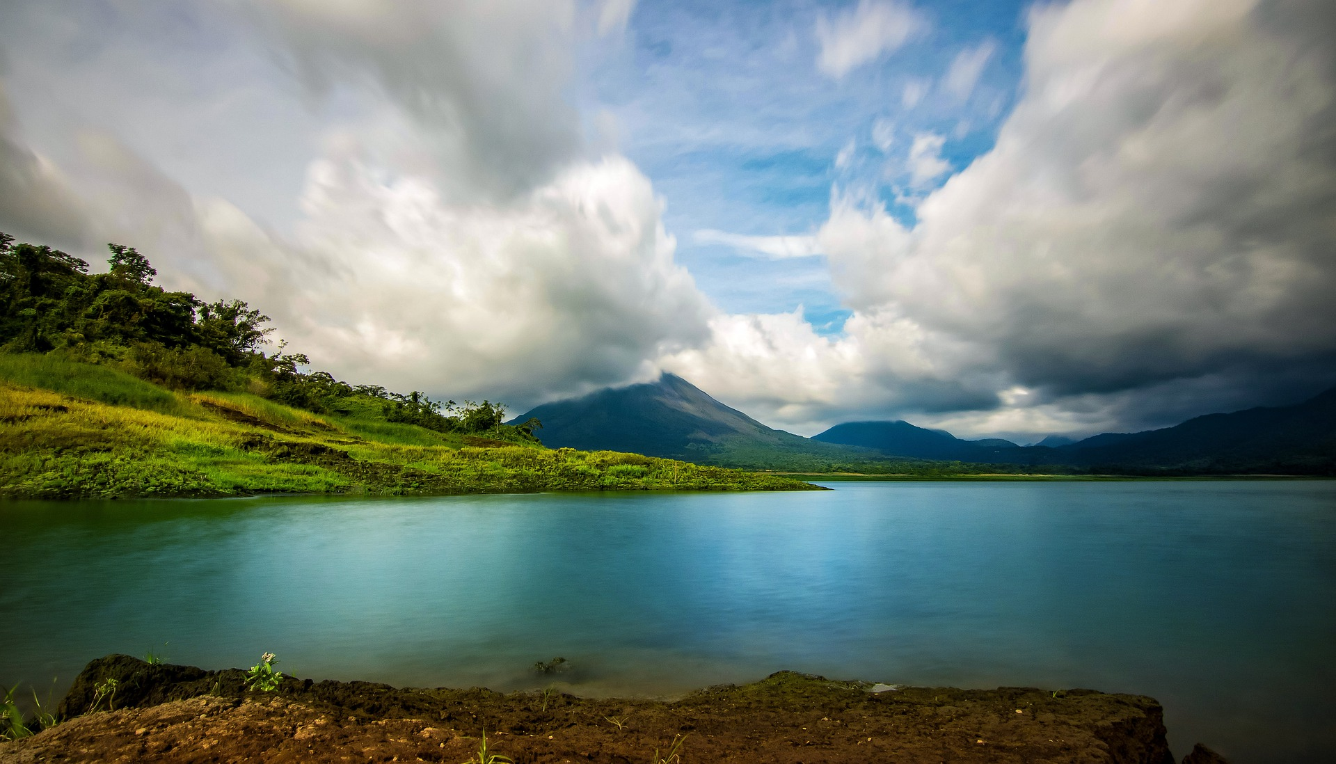 Lake Arenal in the northern highlands of Costa Rica