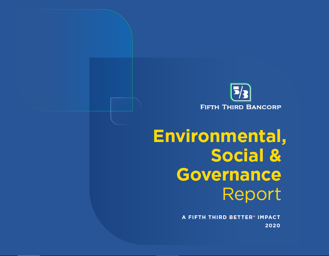 Cover Page of Fifth Third Bancorp Social and Governance Report