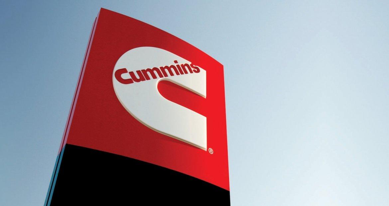 Cummins Inc sign