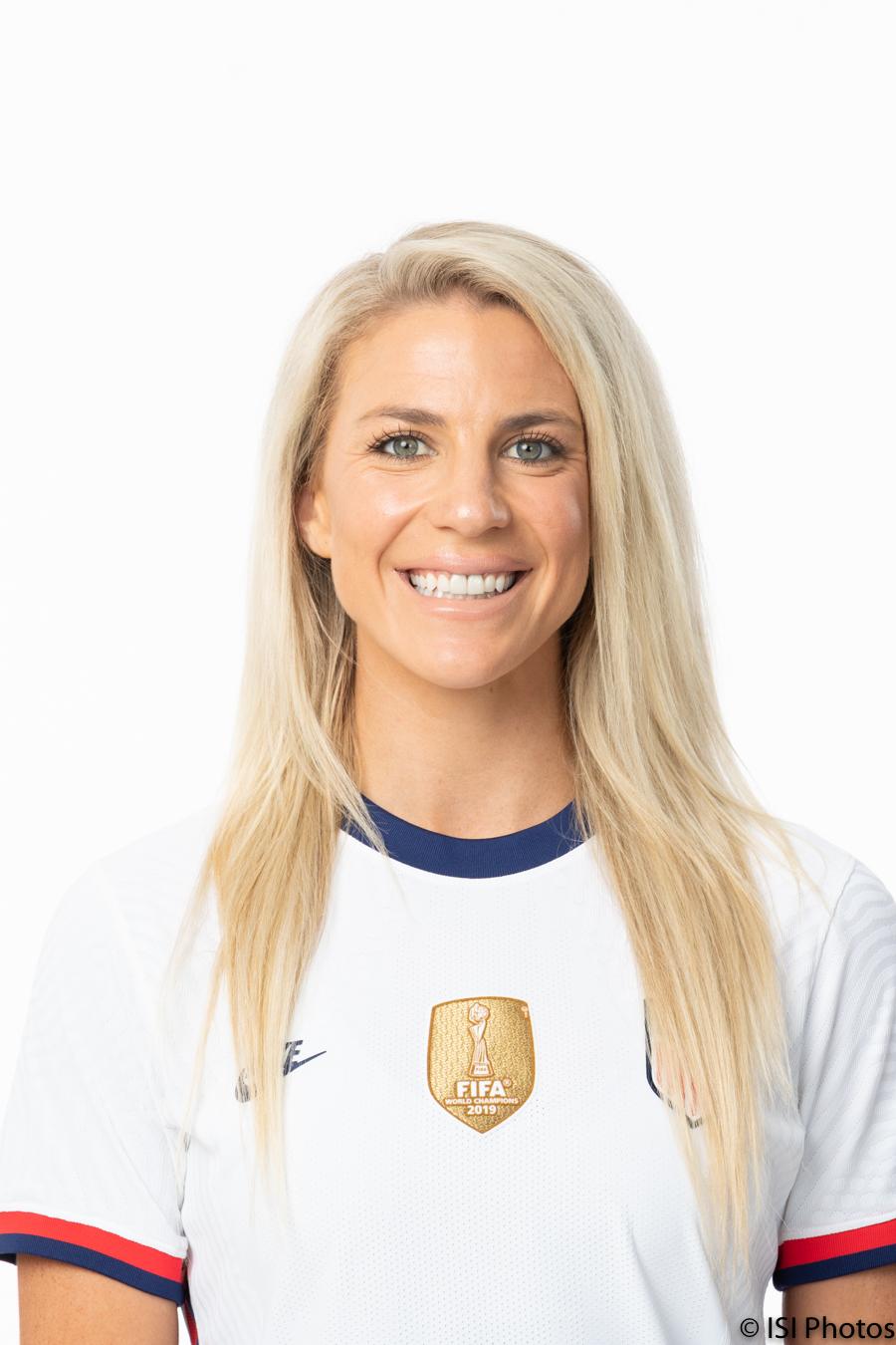 water4Her Athlete Ambassador, Julie Ertz - U.S. Women's National Soccer Team player and 2019 U.S. Soccer Female Player of the Year.