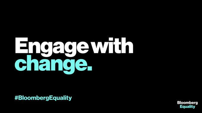 """""""Engage with Change"""" banner"""