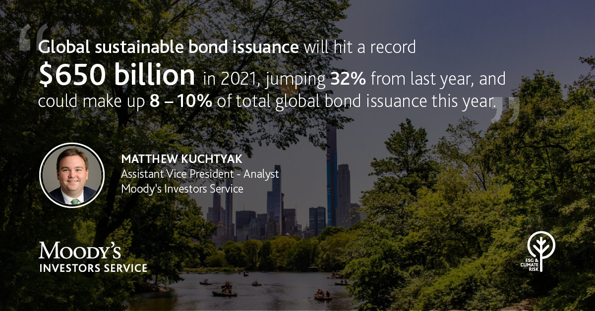 Moody's banner image with quote from Matthew Kuchtyak