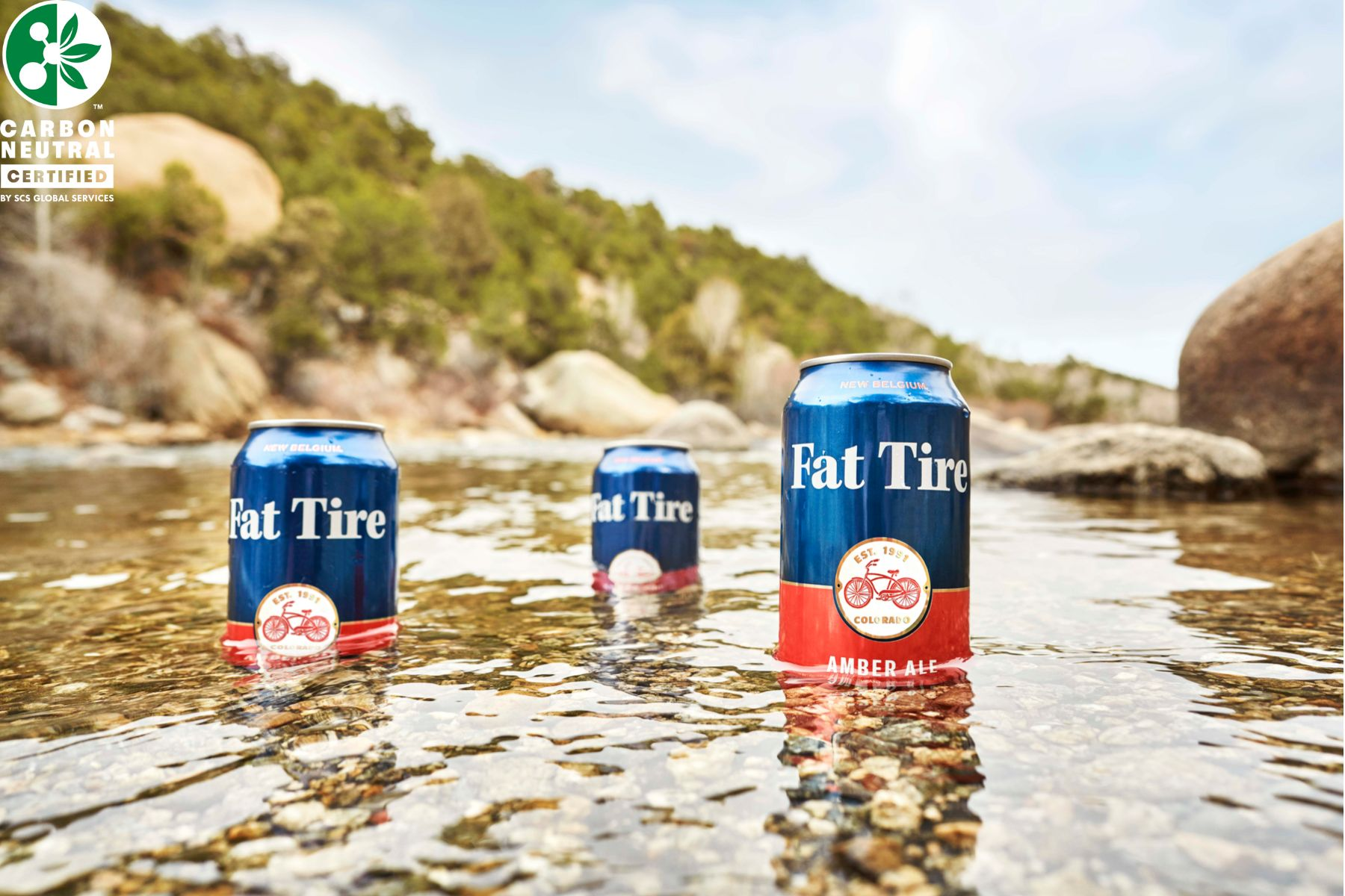 Fat Tire became the first carbon-neutral brew in 2020
